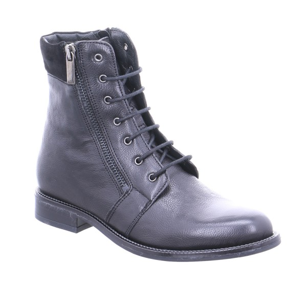 reputable site db0f1 7721d HELÊNE BILLKRANTZ Boot Schwarz Leder