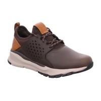 380e67b08b86b7 Bild 1 - SKECHERS Halbschuh Sneaker Braun Leder
