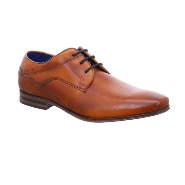 BUGATTI SHOES Halbschuh City Cognac Leder